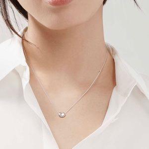 Tiffany mini Peretti small bean necklace